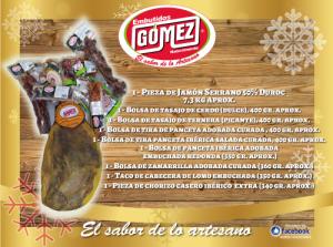 Lote 2 Embutidos Gómez